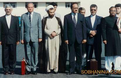 پاكستان هيئت پارلماني ج.ا.ا به عنوان ناظر انتخابات پاكستان 1371