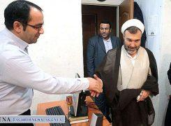 بازدید حجت الاسلام حسین سبحانی نیا،عضو هیات رئیسه مجلس از خبرگزاری تقریب
