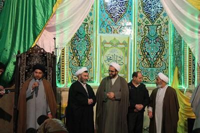 دکترسبحانی نیا میهمان مسجد امام حسن مجتبی(ع) پرندبود